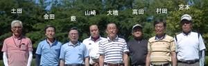 第15回K&K会ゴルフ交流会参加者